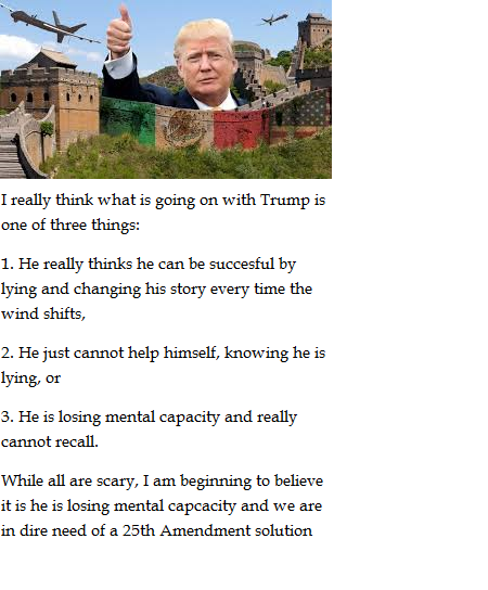 trump mental